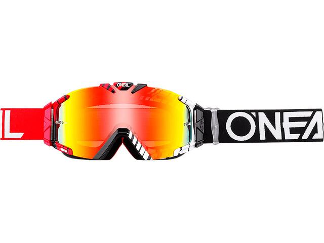 O'Neal B-30 Goggles, duplex black/red/white-radium